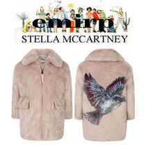 18AW☆STELLA McCARTNEY★大人OK★GIRLS★BIRDファージャケット