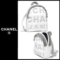CHANEL 2018-19AW Sac a dos リュックサック ホワイト