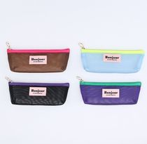 韓国 【SECOND MANSION】BONJOUR MESH MULTI POUCH 4種