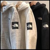 国内発送★THE NORTH FACE SQUARE LOGO FULL-ZIP HOODIE★3色