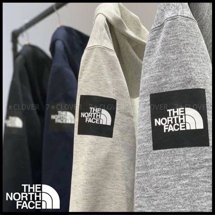 THE NORTH FACE パーカー・フーディ 国内発送★THE NORTH FACE SQUARE LOGO FULL-ZIP HOODIE★3色(2)