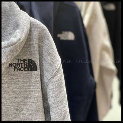 THE NORTH FACE パーカー・フーディ 国内発送★THE NORTH FACE SQUARE LOGO FULL-ZIP HOODIE★3色(3)