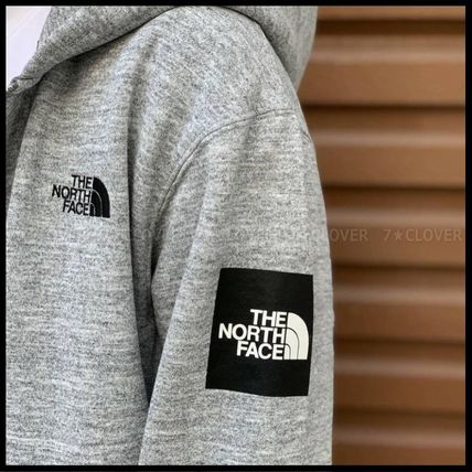 THE NORTH FACE パーカー・フーディ 国内発送★THE NORTH FACE SQUARE LOGO FULL-ZIP HOODIE★3色(4)