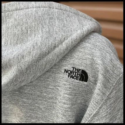 THE NORTH FACE パーカー・フーディ 国内発送★THE NORTH FACE SQUARE LOGO FULL-ZIP HOODIE★3色(5)