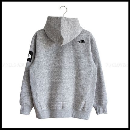 THE NORTH FACE パーカー・フーディ 国内発送★THE NORTH FACE SQUARE LOGO FULL-ZIP HOODIE★3色(7)