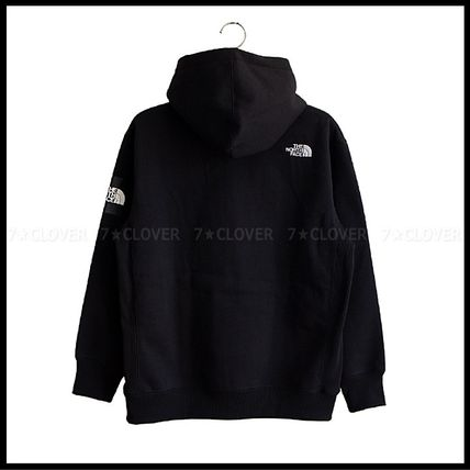 THE NORTH FACE パーカー・フーディ 国内発送★THE NORTH FACE SQUARE LOGO FULL-ZIP HOODIE★3色(9)