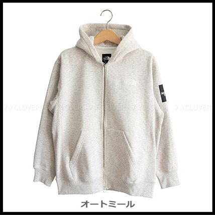 THE NORTH FACE パーカー・フーディ 国内発送★THE NORTH FACE SQUARE LOGO FULL-ZIP HOODIE★3色(10)