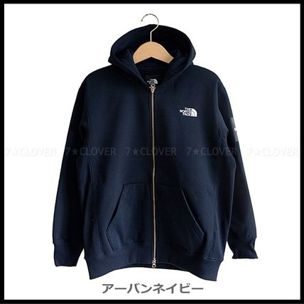 THE NORTH FACE パーカー・フーディ 国内発送★THE NORTH FACE SQUARE LOGO FULL-ZIP HOODIE★3色(12)