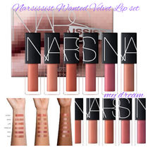 限定♪NARS♡NARSissist Wanted Velvet Lip Glide Set 6本