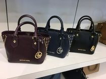 【Michael Kors】新作☆スタッズ付き ARIA XS EW SATCHEL 2way☆