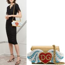 18-19AW DG1826 EMBELLISHED WALLET BAG LARGE