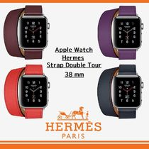 ★【HERMES】Apple Watchベルト Doule Tour 38mm★