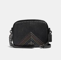 Coach ◆ 31649 Camera bag with quilting and rivets