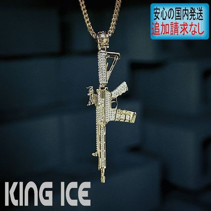 King Ice ネックレス・チョーカー LA発★King Ice★HipHopペンダント M4
