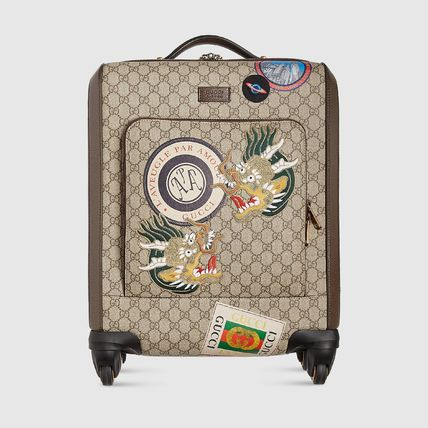 GUCCI スーツケース 【正規品保証】GUCCI★18秋冬★COURRIER GG SUPREME CARRY-ON(2)