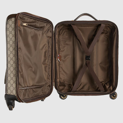 GUCCI スーツケース 【正規品保証】GUCCI★18秋冬★COURRIER GG SUPREME CARRY-ON(3)