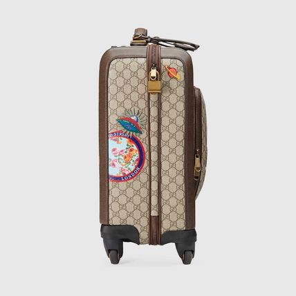 GUCCI スーツケース 【正規品保証】GUCCI★18秋冬★COURRIER GG SUPREME CARRY-ON(6)