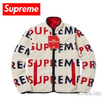 Supreme / Reversible Fleece Jacket フリースジャケット NT