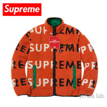 Supreme / Reversible Fleece Jacket フリースジャケット OR