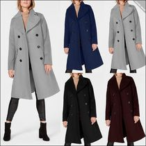 【Michael Kors】Double-Breasted Peacoat
