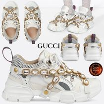 ∞GUCCI∞ REMOVABLE CRYSTALフラストレークスニーカー 関送込!!