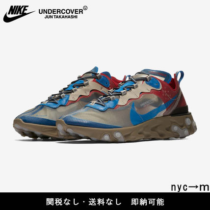 Nike スニーカー 即納 国内発送 UNDERCOVER × NIKE REACT ELEMENT 87