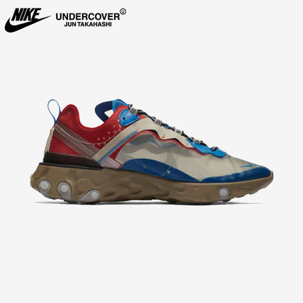 Nike スニーカー 即納 国内発送 UNDERCOVER × NIKE REACT ELEMENT 87(4)