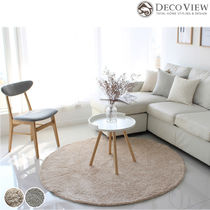 DECO VIEW(デコヴュー)★Lublin Shaggy Circle Rug 2カラー