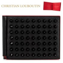 Christian Louboutin正規品/EMS発送/送料込み Spike money clip