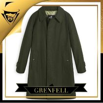 GRENFELL(グレンフェル) コートその他 GRENFELL GRENFELL|Campbell Merino Wool Green
