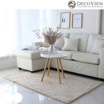 DECO VIEW(デコヴュー)★Lublin Shaggy  Rug -BEIGE (100X150)