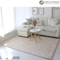 DECO VIEW(デコヴュー)★Lublin Shaggy  Rug -BEIGE (150X200)