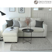 DECO VIEW(デコヴュー)★Lublin Shaggy  Rug -GRAY (100X150)