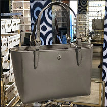 ★在庫・追跡付き★TORY BURCH EMERSON SMALL TOTE GRAY 49127