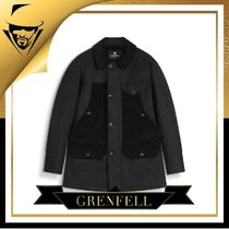 GRENFELL(グレンフェル) ピーコート GRENFELL GRENFELL|The Countryman in Grenfell Cloth Black