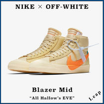 """【Nike×OFF-WHITE】コラボ Blazer Mid """"All Hallow's Eve"""""""