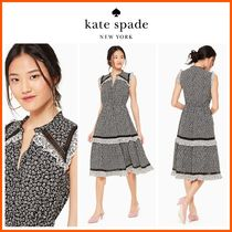 18-19AW!日本未入荷☆kate spade☆plains rayon dress