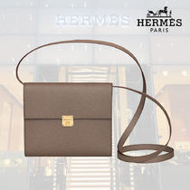 【18AW】HERMES/エルメス Portefeuille Clic 16 etoupe