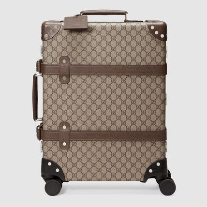 GUCCI スーツケース 【正規品保証】GUCCI★18秋冬★GLOBE-TROTTER GG CARRY-ON(2)