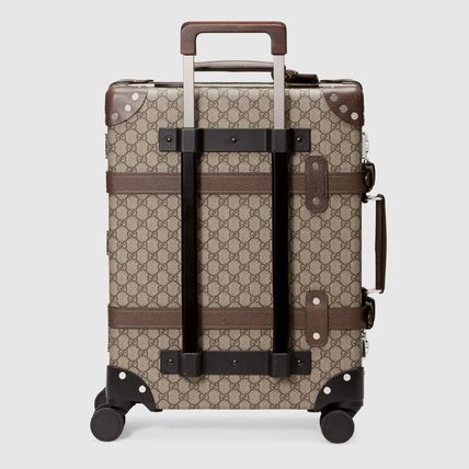GUCCI スーツケース 【正規品保証】GUCCI★18秋冬★GLOBE-TROTTER GG CARRY-ON(3)