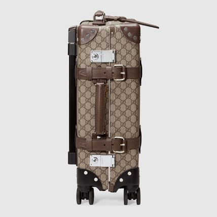 GUCCI スーツケース 【正規品保証】GUCCI★18秋冬★GLOBE-TROTTER GG CARRY-ON(4)