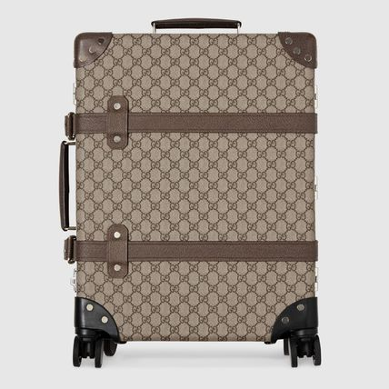 GUCCI スーツケース 【正規品保証】GUCCI★18秋冬★GLOBE-TROTTER GG CARRY-ON(5)