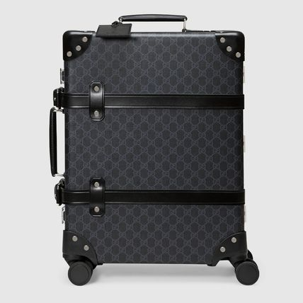 GUCCI スーツケース 【正規品保証】GUCCI★18秋冬★GLOBE-TROTTER GG CARRY-ON(7)