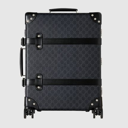 GUCCI スーツケース 【正規品保証】GUCCI★18秋冬★GLOBE-TROTTER GG CARRY-ON(10)