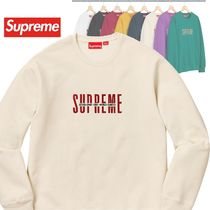 Supreme World Famous Crewneck Sweatshirt AW 18 WEEK 7