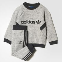 《adidas☆キッズ》 INFANT FRENCH TERRY CREW 上下セット75-100
