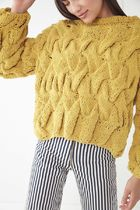 ★日本未入荷★ UO/ Hand Cable Knit Pullover Sweater 完売間近