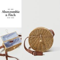 Abercrombie(アバクロ)★WICKER CROSSBODY BAG