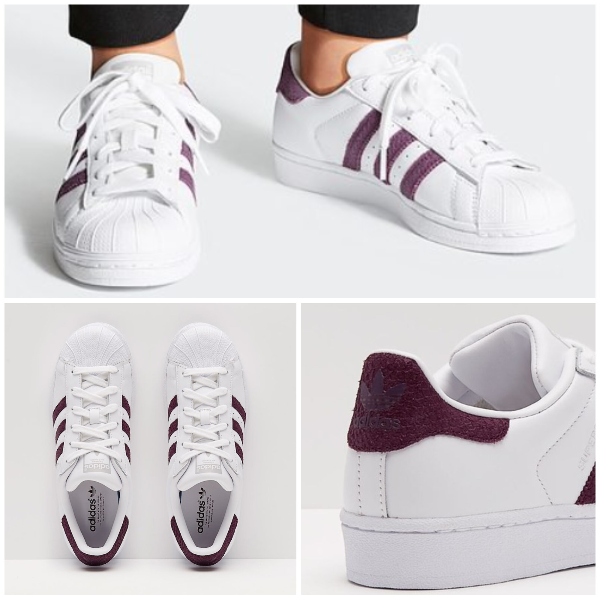 superior quality 2d42f 2e043 adidas SUPERSTAR 2018-19AW Round Toe Casual Style Unisex Street Style Python