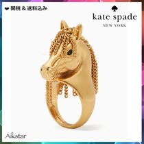 [Kate Spade] wild ones horse ring